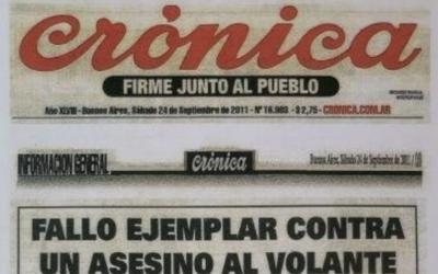 FALLO EJEMPLAR CONTRA UN ASESINO AL VOLANTE