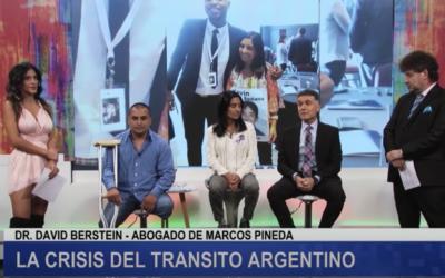Viviam Perrone y Dr. David Berstein – Caso Marcos Pineda- Canal 26